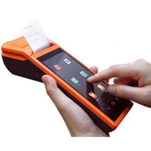 Prenosna POS blagajna V1S, 5,5'', 58 mm tiskalnik