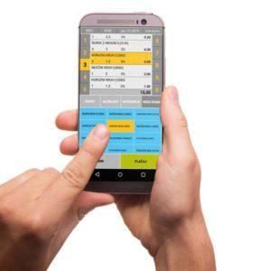 Program OPTIPOS Android Mobilna Blagajna