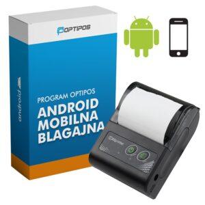 akc1 android mobilna blagajna prenosni pos tiskalnik